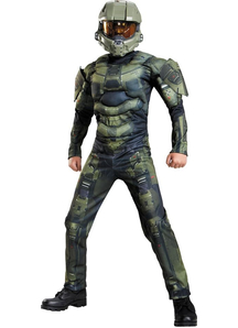 Master Chief Muscle Child Costume