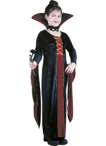 Medieval Vampiress Child Costume