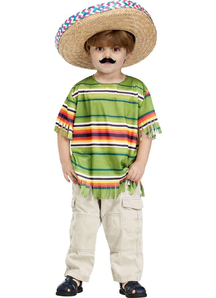 Mexican Boy Child Costume