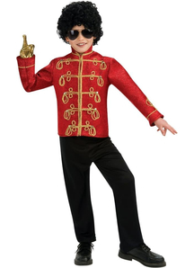 Military Michael Jackson Child Jacket