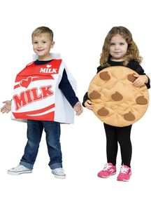Milk With Cookie Child Costumes