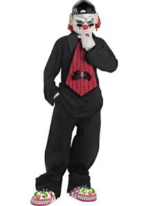 Mime Child Costume