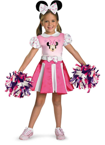 Minnie Mouse Cheerleader Child Costume