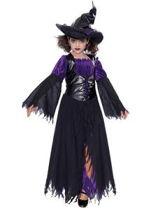 Mischievious Witch Child Costume