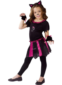Mischievous Cat Child Costume