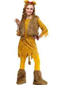Miss Lion Child Costume