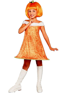 Miss Pumpkin Child Costume