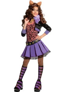 Monster High Clawdeen Wolf Child Costume