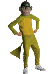 Monsters Vs Aliens Missing Link Child Costume