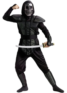 Ninja Skeleton Child Costume