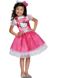 Pink Hello Kitty Child Costume