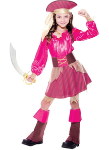 Pink Pirate Child Costume