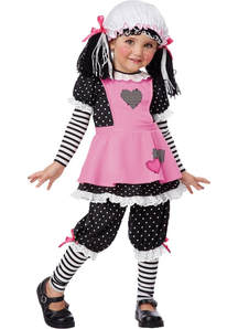 Pink Rag Doll Child Costume