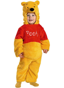 Plush Winnie The Pooh Toddler Costume