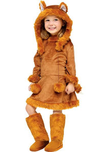 Pretty Fox Toddler Costume