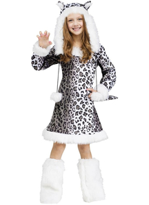 Pretty Leoparder Child Costume
