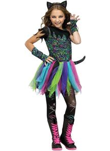 Punk Cat Child Costume