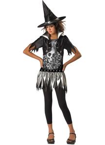Punk Witch Child Costume