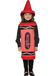 Red Crayola Child Costume