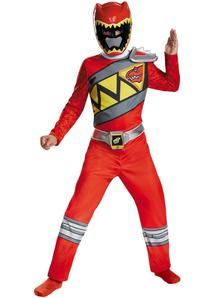 Red Ranger Dino Child Costume