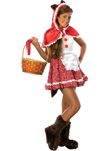 Red Riding Hood Teen Costume