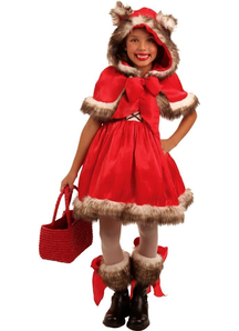 Red Riding Wolf Child Costume