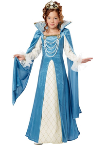 Renaissance Princess Girls Costume
