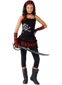 Rock Pirate Child Costume
