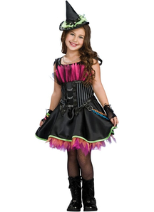 Rocker Witch Child Costume