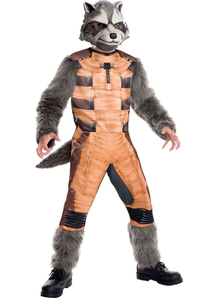 Rocket Raccoon Child Costume
