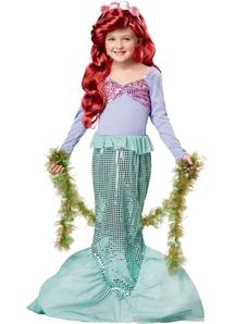 Sequin Mermaid Child Costume
