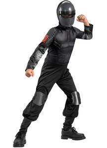Snake Eyes Child Costume