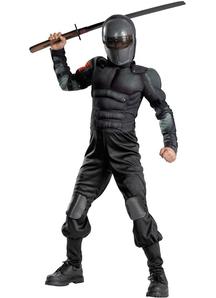 Snake Eyes Muscle Child Costume
