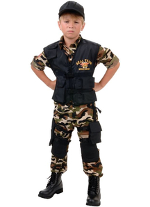 Special Forces Child Costume