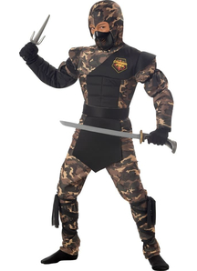Spiceal Officer Ninja Costume