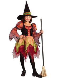 Spring Witch Child Costume