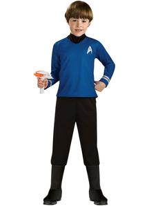 Star Trek Blue Child Costume