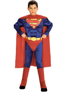 Superman Muscle Child Costume