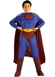 Superman Muscle Costume Child