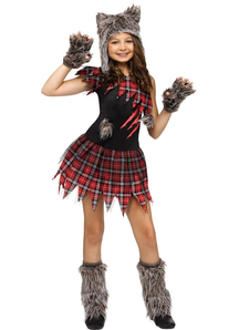 Sweet Wolf Child Costume