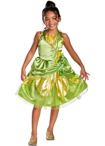 Tiana The Princess And The Frog Child Costume