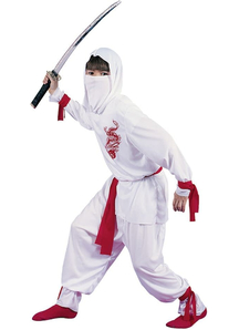 White Dragon Ninja Child Costume