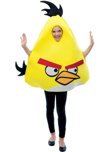 Yellow Angry Birds Child Costume