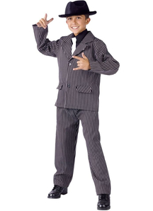 Young Gangster Child Costume