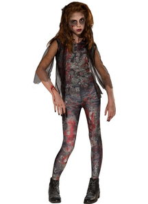 Zombie Girl Kids Costume