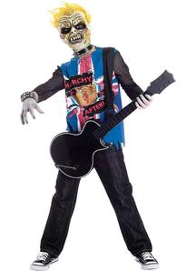 Zombie Rocker Child Costume