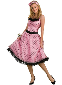 50'S Style Adult Costume