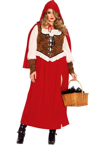 Amazing Riding Hood Plus Size Costume