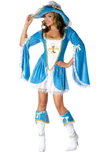 Beaytiful Musketeer Adult Costume