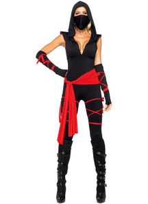 Black Ninja Costume Adult